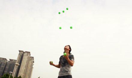 dragon juggling act