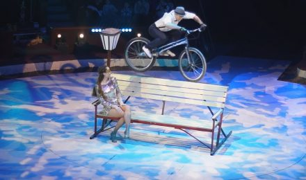 trialbike & dance act